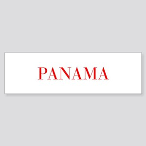 Panama-Bau red 400 Bumper Sticker