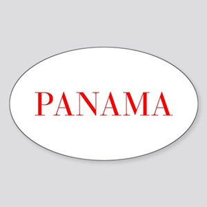 Panama-Bau red 400 Sticker