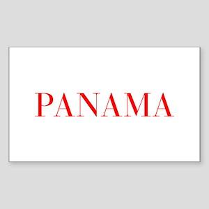 Panama-Bau red 400 Sticker