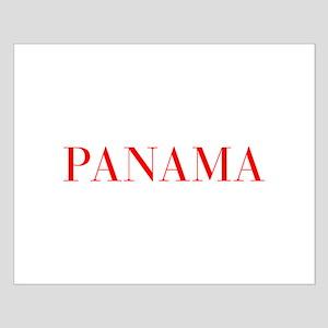 Panama-Bau red 400 Posters