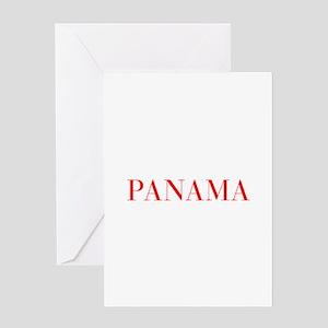 Panama-Bau red 400 Greeting Cards