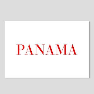 Panama-Bau red 400 Postcards (Package of 8)