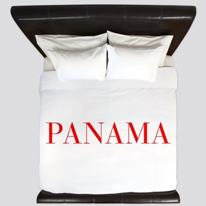 Panama-Bau red 400 King Duvet