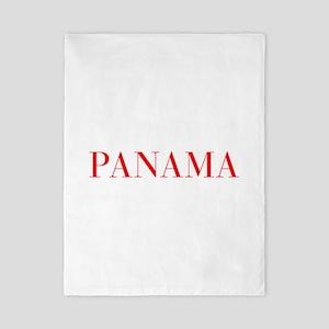 Panama-Bau red 400 Twin Duvet