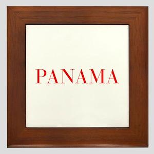 Panama-Bau red 400 Framed Tile