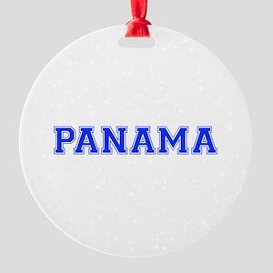 Panama-Var blue 400 Ornament
