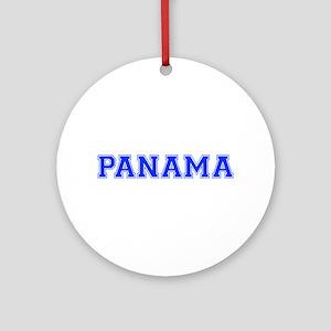 Panama-Var blue 400 Ornament (Round)