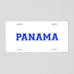 Panama-Var blue 400 Aluminum License Plate