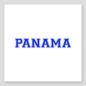 "Panama-Var blue 400 Square Car Magnet 3"" x 3"""