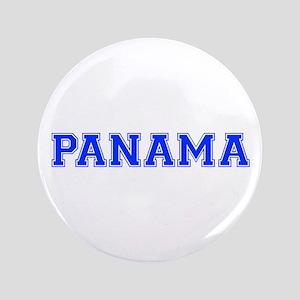 "Panama-Var blue 400 3.5"" Button"