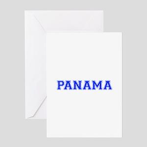 Panama-Var blue 400 Greeting Cards