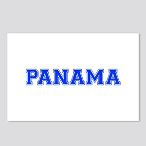 Panama-Var blue 400 Postcards (Package of 8)