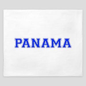 Panama-Var blue 400 King Duvet