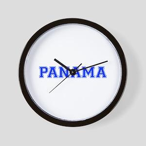 Panama-Var blue 400 Wall Clock