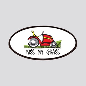 KISS MY GRASS Patch