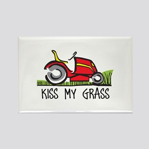 KISS MY GRASS Magnets