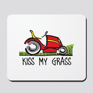 KISS MY GRASS Mousepad