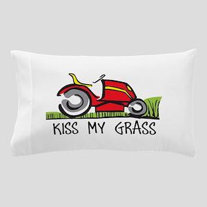 KISS MY GRASS Pillow Case