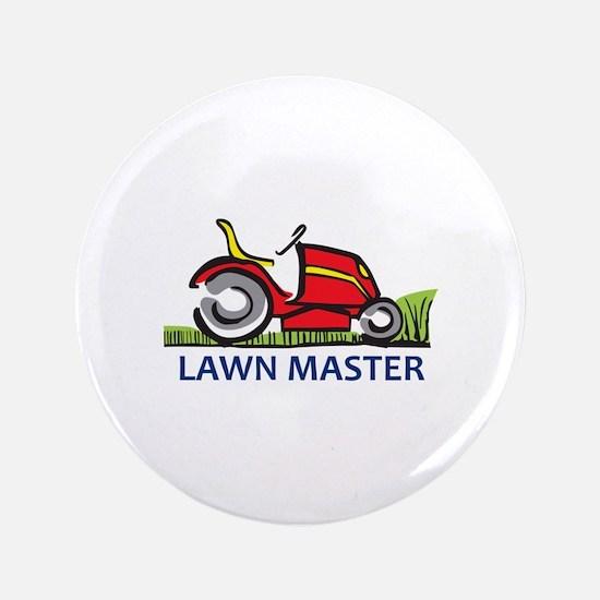 "LAWN MASTER 3.5"" Button"