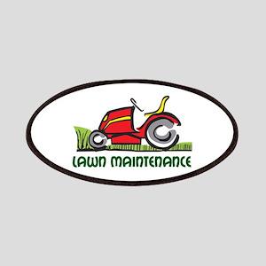 LAWN MAINTENANCE Patch