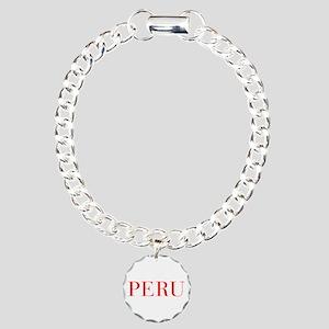 Peru-Bau red 400 Bracelet