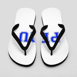 Peru-Var blue 400 Flip Flops