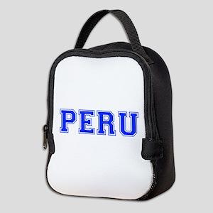 Peru-Var blue 400 Neoprene Lunch Bag