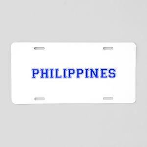 Philippines-Var blue 400 Aluminum License Plate