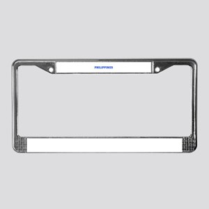 Philippines-Var blue 400 License Plate Frame