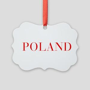 Poland-Bau red 400 Ornament