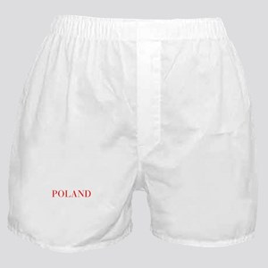 Poland-Bau red 400 Boxer Shorts