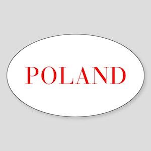 Poland-Bau red 400 Sticker