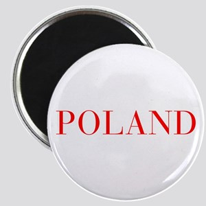 Poland-Bau red 400 Magnets