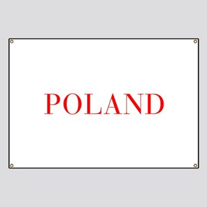 Poland-Bau red 400 Banner