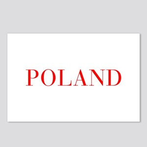 Poland-Bau red 400 Postcards (Package of 8)