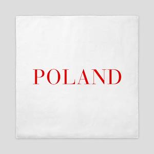 Poland-Bau red 400 Queen Duvet