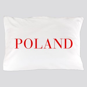Poland-Bau red 400 Pillow Case