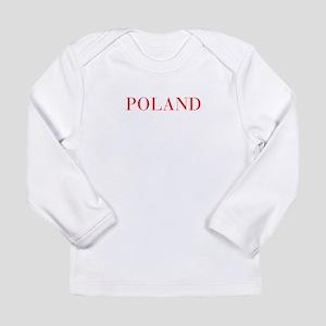 Poland-Bau red 400 Long Sleeve T-Shirt