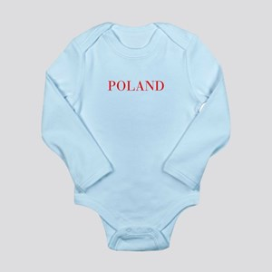 Poland-Bau red 400 Body Suit