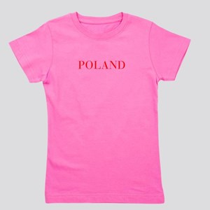 Poland-Bau red 400 Girl's Tee