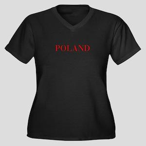 Poland-Bau red 400 Plus Size T-Shirt