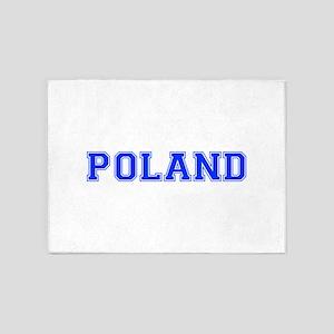 Poland-Var blue 400 5'x7'Area Rug