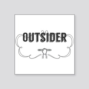 Outsider Sticker