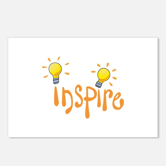 LIGHTBULB INSPIRE Postcards (Package of 8)