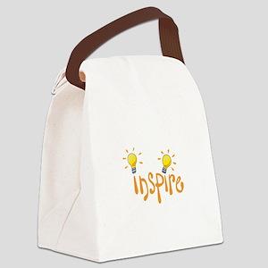 LIGHTBULB INSPIRE Canvas Lunch Bag