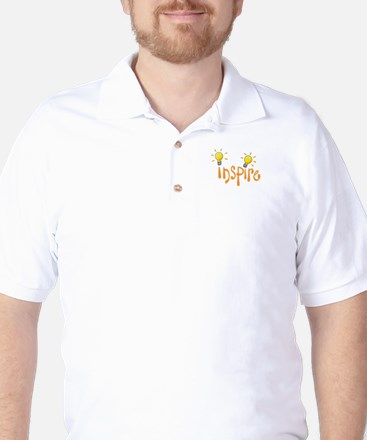 LIGHTBULB INSPIRE Golf Shirt