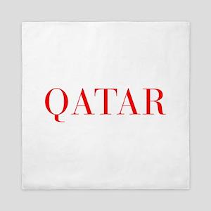 Qatar-Bau red 400 Queen Duvet