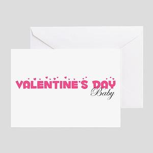 Valentine's Day Baby Greeting Card