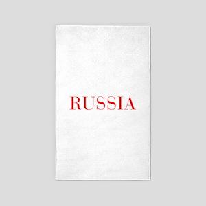 Russia-Bau red 400 Area Rug