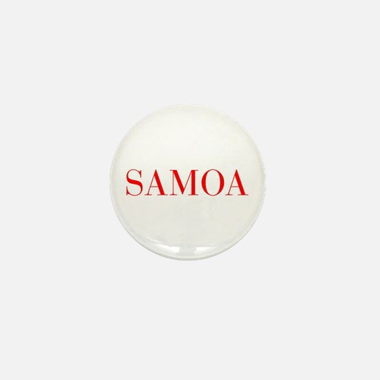 Samoa-Bau red 400 Mini Button